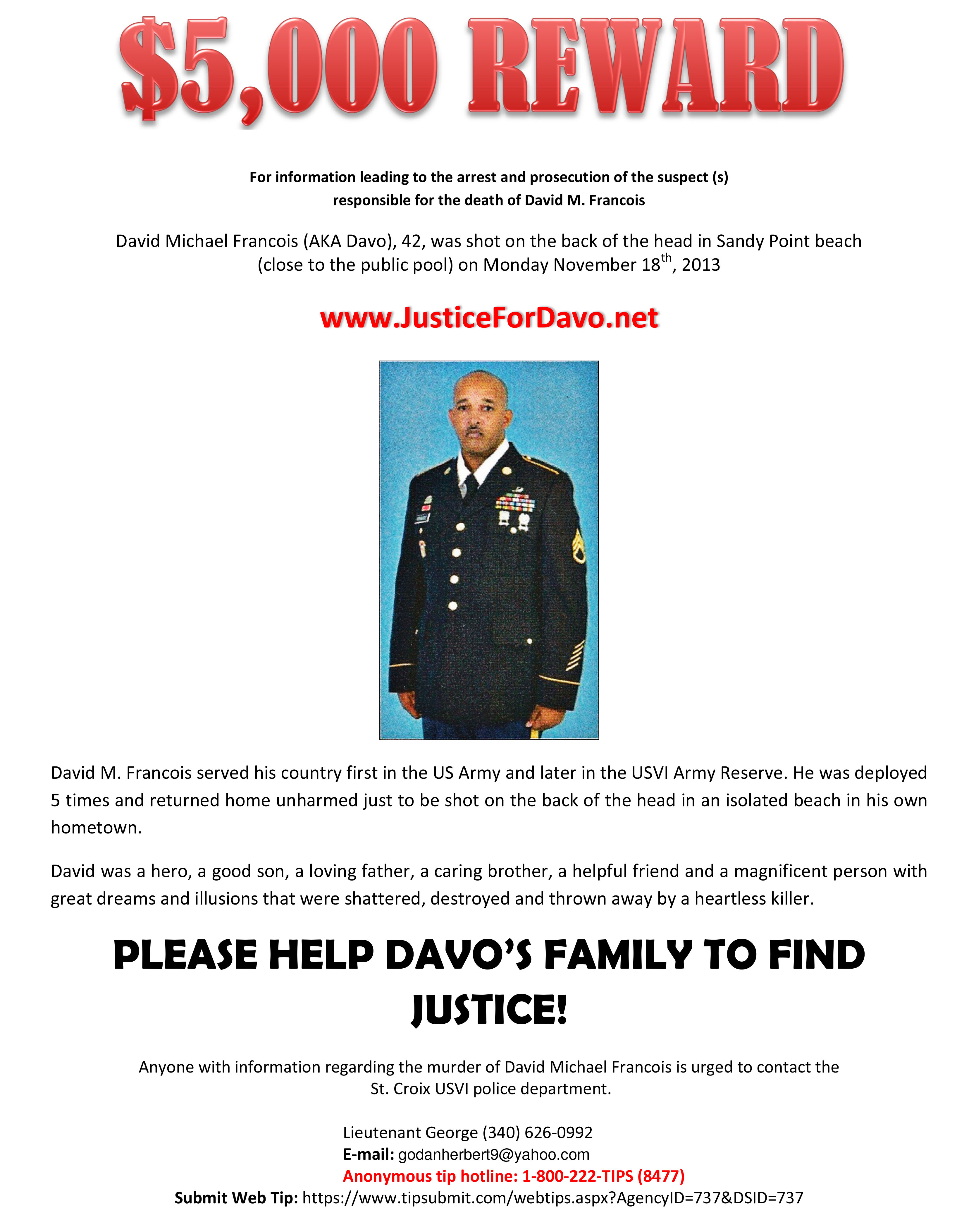justice for davo download page